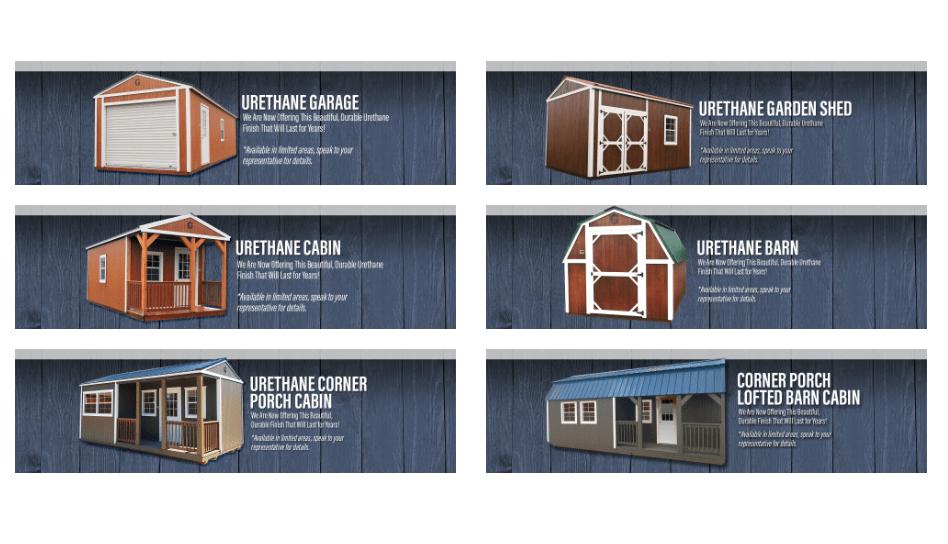 graceland portable buildings urethane style portable buildings